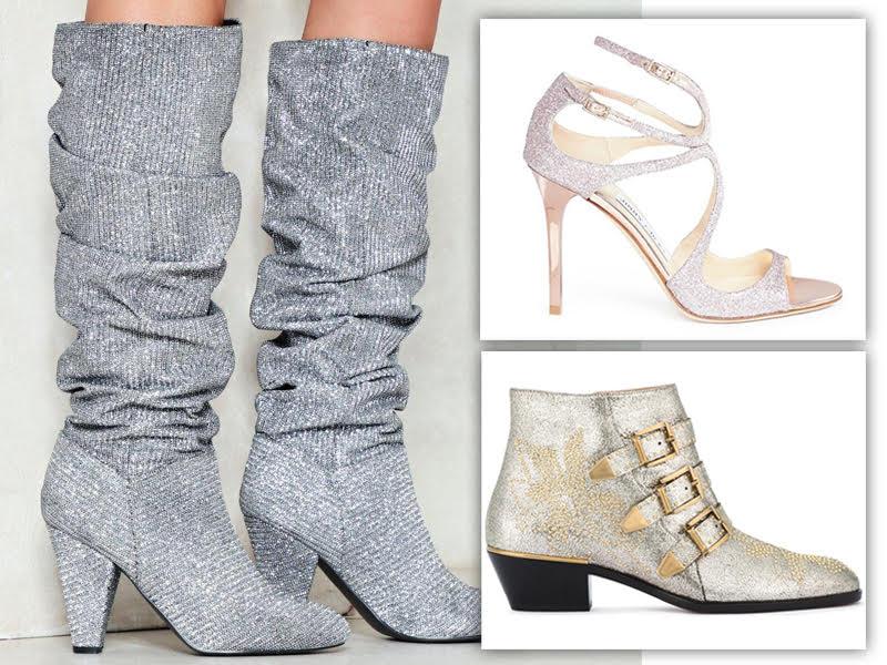Designer Footwear That Sparkle and Shine