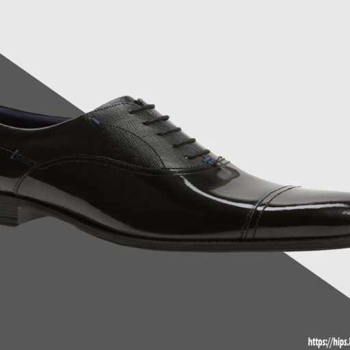 Formal Tuxedo Shoes - Genuine Leather